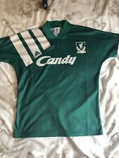 Liverpool 1991 Away Football Shirt Small Mens Amazing Condition! Vintage Retro