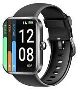 Reloj inteligente letscom para mujer hombre, 1.69 pulgadas de pantalla táctil SmartWatch, Fitness &
