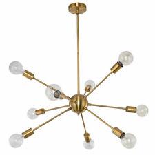 12-Lights Industrial Sputnik Chandelier Pendant Lighting Ceiling Fixture Home