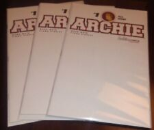 3 copy lot ARCHIE #1  BLANK sketch COVER VARIANT