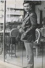Fred Bongusto Vintage silver print,Fred Bongusto, de son vrai nom Alfredo Anto