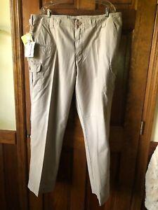 NWT Cabelas Womens Pants Mid-rise size 20 Regular khaki