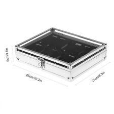 Aluminum Uhrenbox Uhrenkoffer für 12 Uhren Uhrentruhe Uhrenkasten Uhrenschatulle