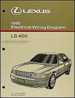 Ls400 1997 Lexus Shop Manual Electrical Wiring Diagram Service Repair Book Ebay