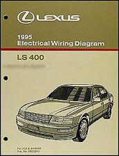 1995 Lexus LS 400 Wiring Diagram Manual Electrical Schematic Original LS400 OEM