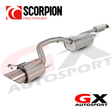 SFD055 Scorpion Exhausts Ford Focus ST170 Hatch 2002-2005 Res CatBack