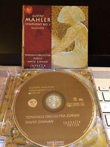 DAVID ZINMAN*RCA SACD 2007*MAHLER SYMPHONY NO.1, BLUMINE*VERY GOOD CONDITION