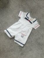 Stunning Baby Boy Summer white Sailor Outfit 6-9 Nautical Spanish traditional U