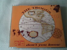 THE TROGGS - DON'T YOU KNOW - 1992 UK CD SINGLE