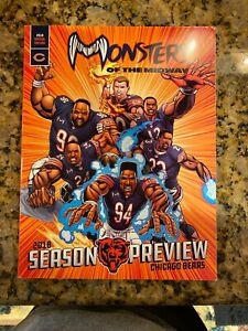 2018-2019 Chicago bears Season Preview Magazine Given To Season Ticket Holders