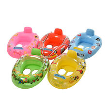 Kids Baby Seat Swimming Swim Ring Pool Aid Trainer Beach Float Inflatable SE