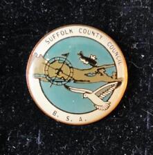 Vintage BSA Hatpin - Suffock County Council - CSP Pin -