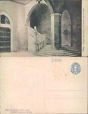 SIENA - PALAZZO GROTTANELLI - IL CORTILE CON LA SCALA          (rif.fg.10506)