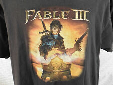 "FABLE 3 ""It's a Revolution"" T-Shirt XL (2 Sided) Xbox 360 Video Game Microsoft"