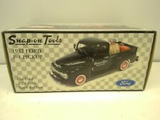 SNAP-ON TOOLS 1952 FORD F-1 PICKUP TRUCK - 50's GARAGE SERIES - 1:24 SCALE
