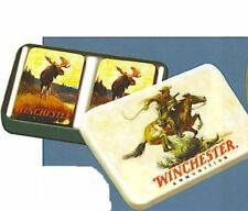Winchester Playing Cards In Tin Box 2 Deck Gift Set