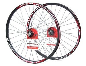 """Fulcrum Red Heat bicycle DH/down hill 6 Bolt 26"""" Mountain Bike bicycle Wheelset"""