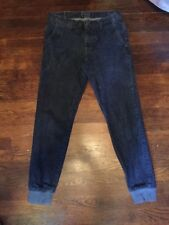 Brooklyn Calling Mens Jeans Pants Size 29 Drop Crotch Elastic Ankle