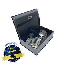 Book Safe Hidden Secret Jewelry Security Money Cash Compartment Stash Box Shelf