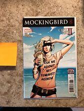 Marvel Comics Mockingbird #8 RARE Chelsea Cain Cover NM
