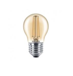 Philips Vintage Amber Golf Ball Light Bulbs E27 P45 5W - 35W Filament LED Lamp