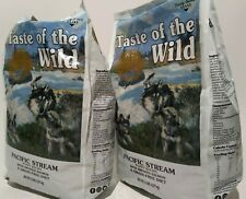 2-Pack SEALED Taste Of The Wild Pacific Stream Premium Dry Dog Food Puppy Salmon