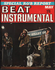 BEAT INSTRUMENTAL Magazine No 37 May 1966 Small Faces Hank Marvin Beatles