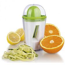 2in1 Saftpresse Spiralschneider für frische Säfte und Gemüsenudeln