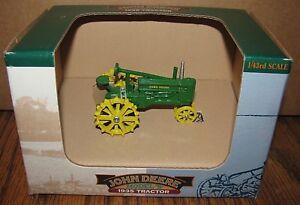 John Deere 1934 B Two Cylinder Tractor 1/43 Spec Cast Toy JDM060 Die Cast Metal