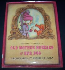 Vintage 1981 Comic Adventures Mother Goose and Her Dog Hardcover Children's Book