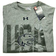 Under Armour Penn State Mens Large Tee Shirt Heat Gear Loose Short Sleeve USA