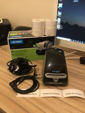 Dymo LabelWriter 450 Label Printer with power supply + USB cable 4 Rolls Labels