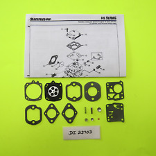 Homelite XL12 XL400 XL500 XL Chain Saw Tillotson  Carburetor  HS1A HS4A Carb Kit