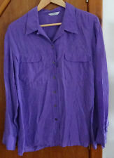 Marks and Spencer Violet Blouse 16