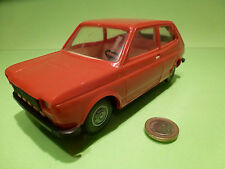 PLASTIC  FIAT 127 - RED 1:20 -  GOOD CONDITION - PLASTIK - VINTAGE FRICTION