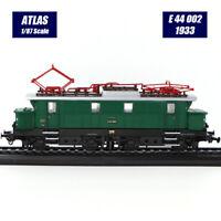 HOT 1/87 Atlas Lokomotive Modellsammlungen Straßenbahn E 44 002 (1933) Zug