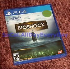 BioShock: The Collection (PS4) NEW & SEALED!! All 3 Games 1 2 Infinite + All DLC
