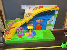 Fisher Price Little People Fun Amusement Park NEW missing people Roller Coaster
