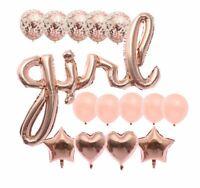 Baby Shower Theme Party Balloon Decor Girl Or Boy Gender Reveal 15pcs set UK
