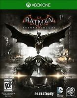 Batman: Arkham Knight (Microsoft Xbox One, 2015) BRAND NEW AND FACTORY SEALED