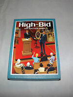VINTAGE TOY 1965 MMM CO HIGH-BID AUCTION GAME NEVER PLAYED WITH!
