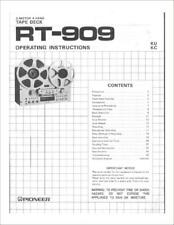 PIONEER TAPE RECORDER MANUALS ON CD-R