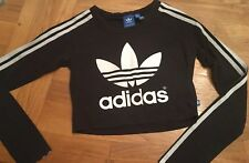 Womans/Girls Cropped Adidas Top Size Adult 8