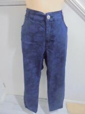 6fc0464c3b64f AVELLA SIZE 18 NWOT BLUE PATTERN DENIM LOOK PANTS