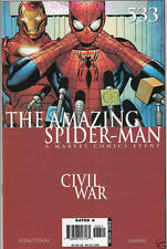AMAZING SPIDER-MAN #533 CIVIL WAR MARVEL COMIC BOOK JUNE 2006 NEW 1