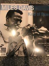 MILES DAVIS 'KIND OF BLUE LP'  180 G VINYL LP ERMITAGE RECORDS - NEW + SEALED