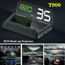 T900 Car LED GPS Speed Water Temperature HUD Head-up Projector Universal Parts