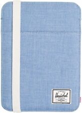 NWT HERSCHEL CO. CYPRESS SLEEVE IPAD MINI CHAMBRAY CROSSHATCH BLUE SLIM CASE