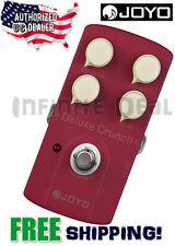 JOYO JF-39 Deluxe Crunch Overdrive Guitar Effects Pedal True Bypass US Dealer