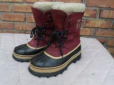 HARD TO FIND-Women's Sorel Caribou Winter Boots Felt Lined Waterproof size 7